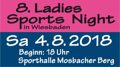 8. Ladies Sports Night in Wiesbaden