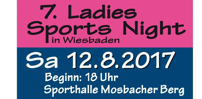 7. Ladies Sports Night